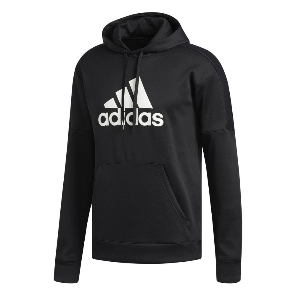 Adidas Men's Team Issue Badge Of Sport Pullover Hoodie - Black, XL