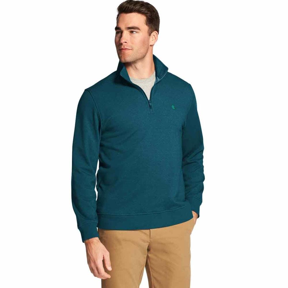 IZOD Men's Advantage Performance Stretch Quarter Zip Fleece Pullover M
