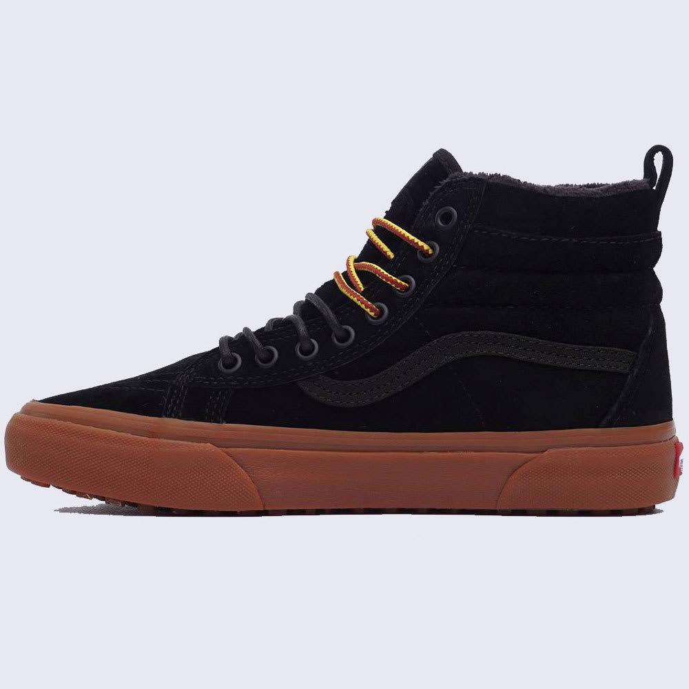 VANS Men's Sk8-Hi MTE Skate Shoes - BLK/GUM-VN0A33TXGT7