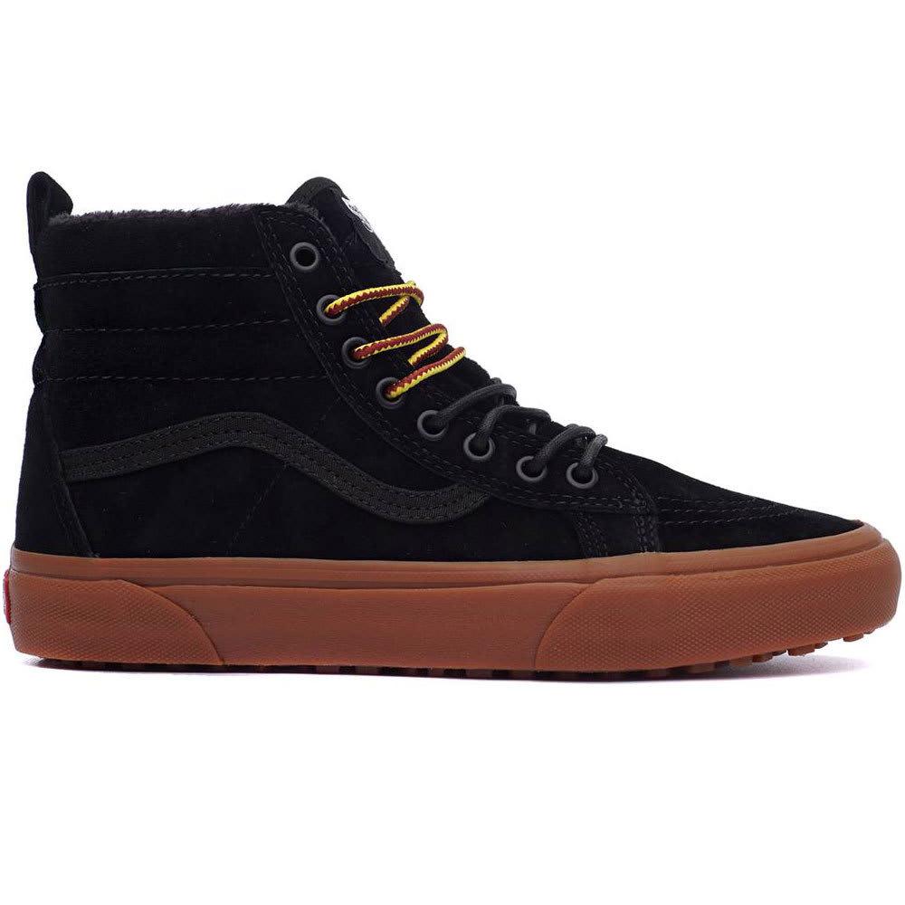 Vans Men's Sk8-Hi Mte Skate Shoes - Black, 8.5