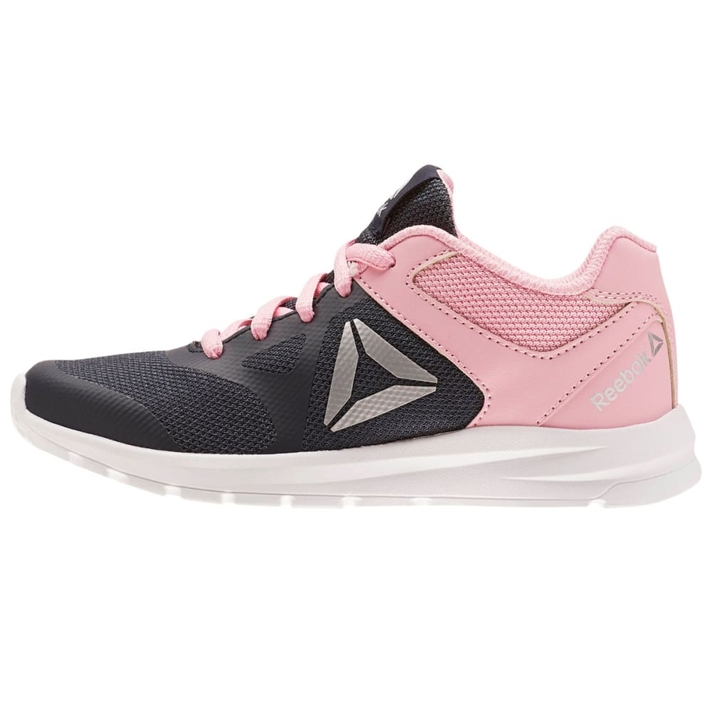 REEBOK Girls' Rush Runner Running Shoes - NAVY-CN5330