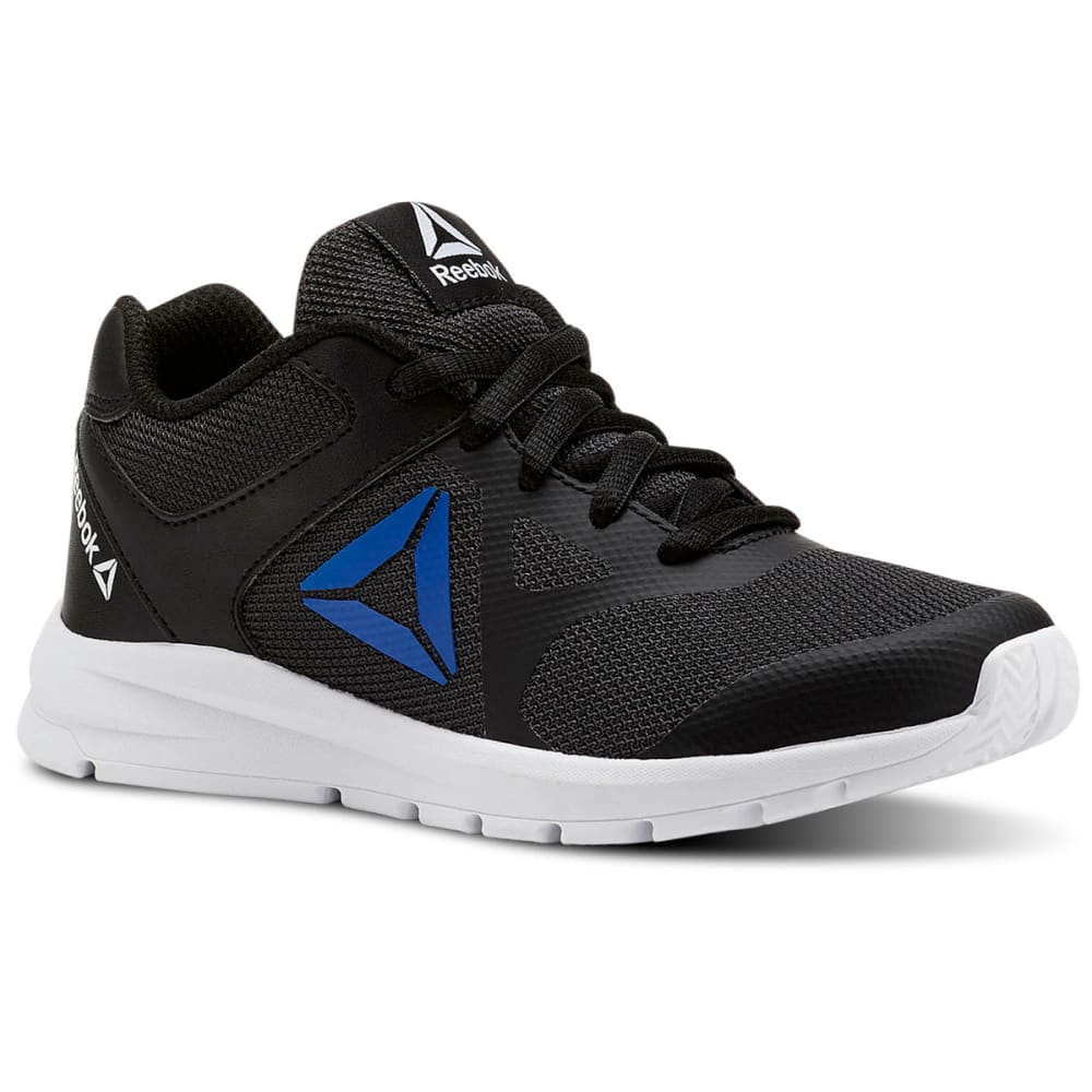 REEBOK Boys' Rush Runner Running Shoes - BLACK-CN5325