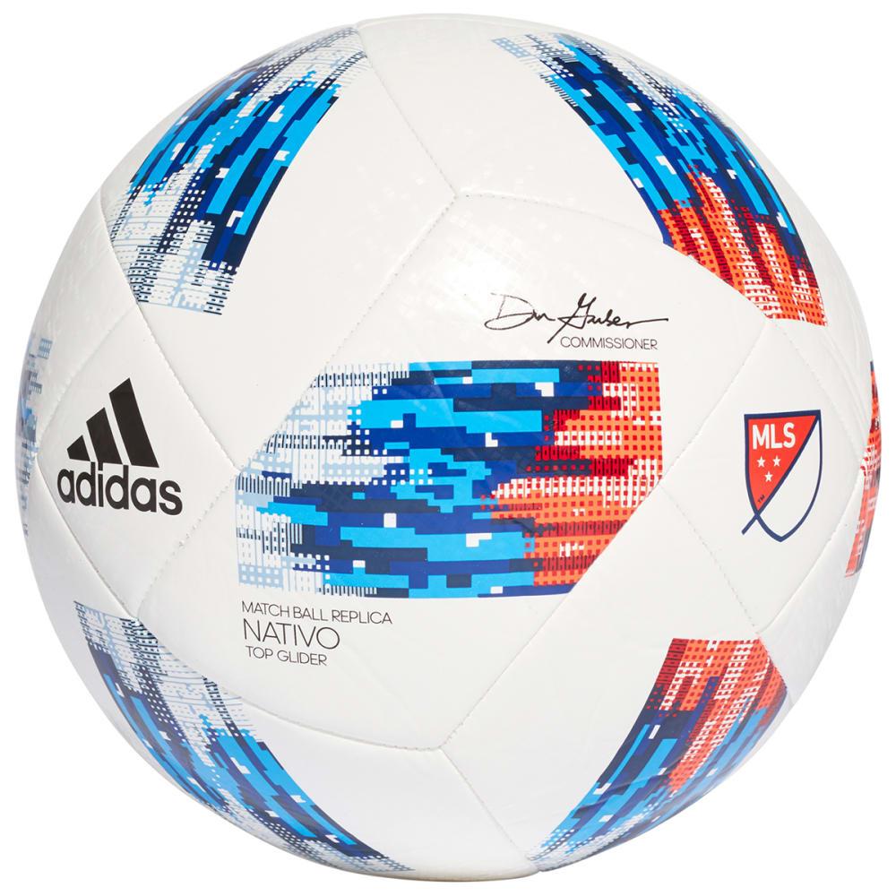 ADIDAS 2017 MLS Top Glider Soccer Ball - white / ash blue /