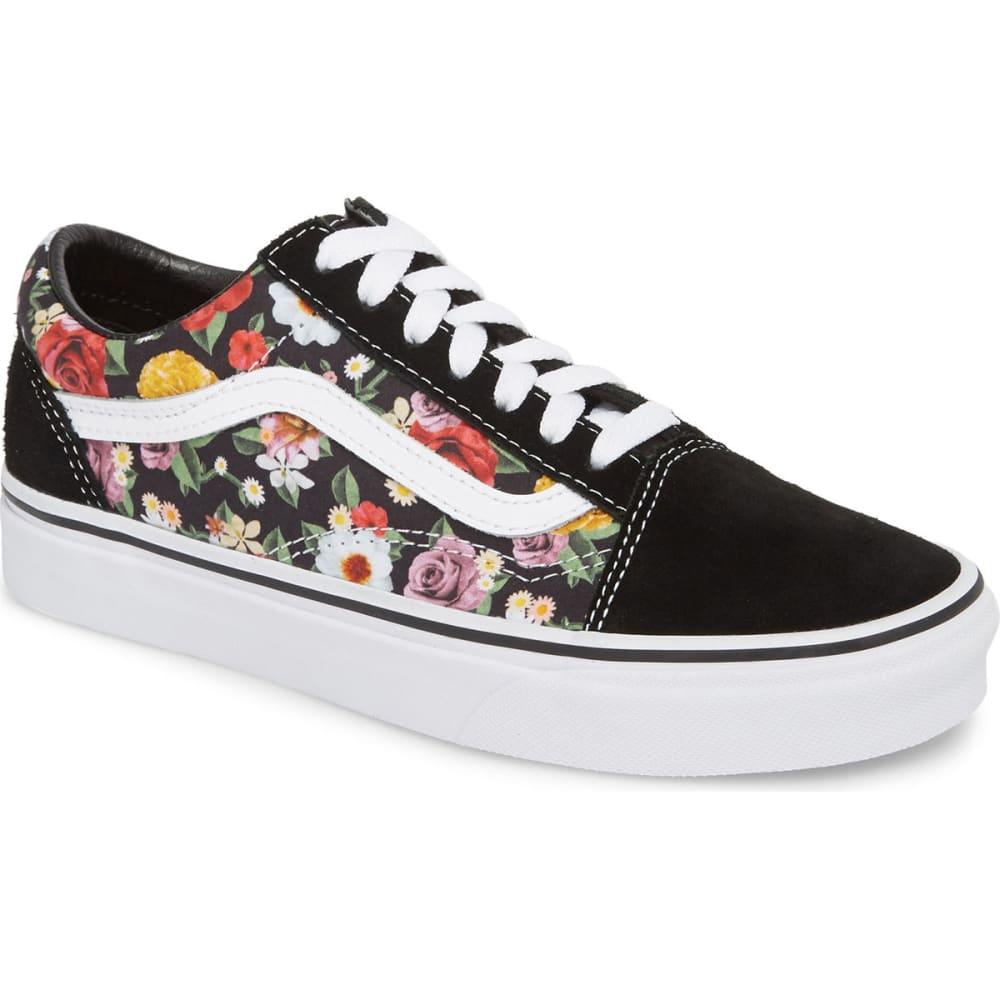 VANS Unisex Old Skool Lux Floral Sneakers - DIGI FLORAL/BLK