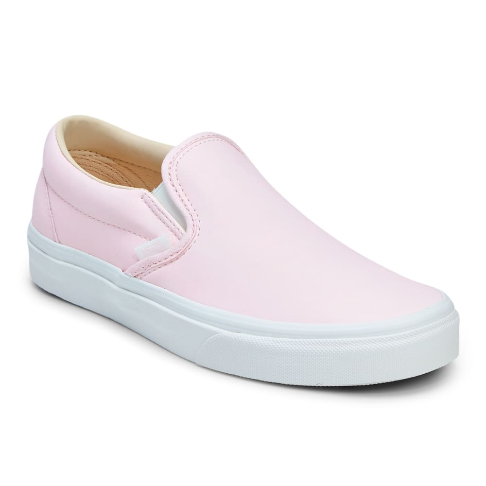 VANS Unisex Vansbuck Classic Slip-On Casual Shoes - HEAVENLY PINK/BLANC