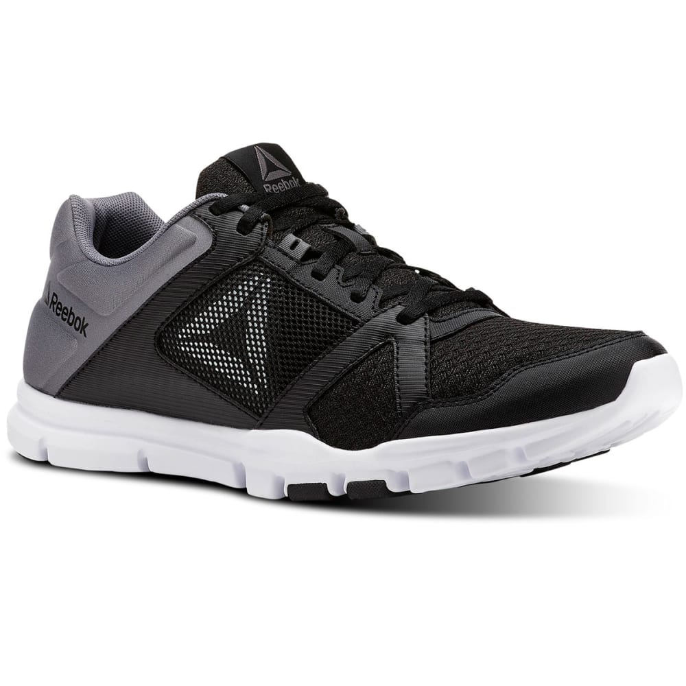 REEBOK Men's YourFlex Train 10 Cross-Training Shoes - BLACK-CN4727