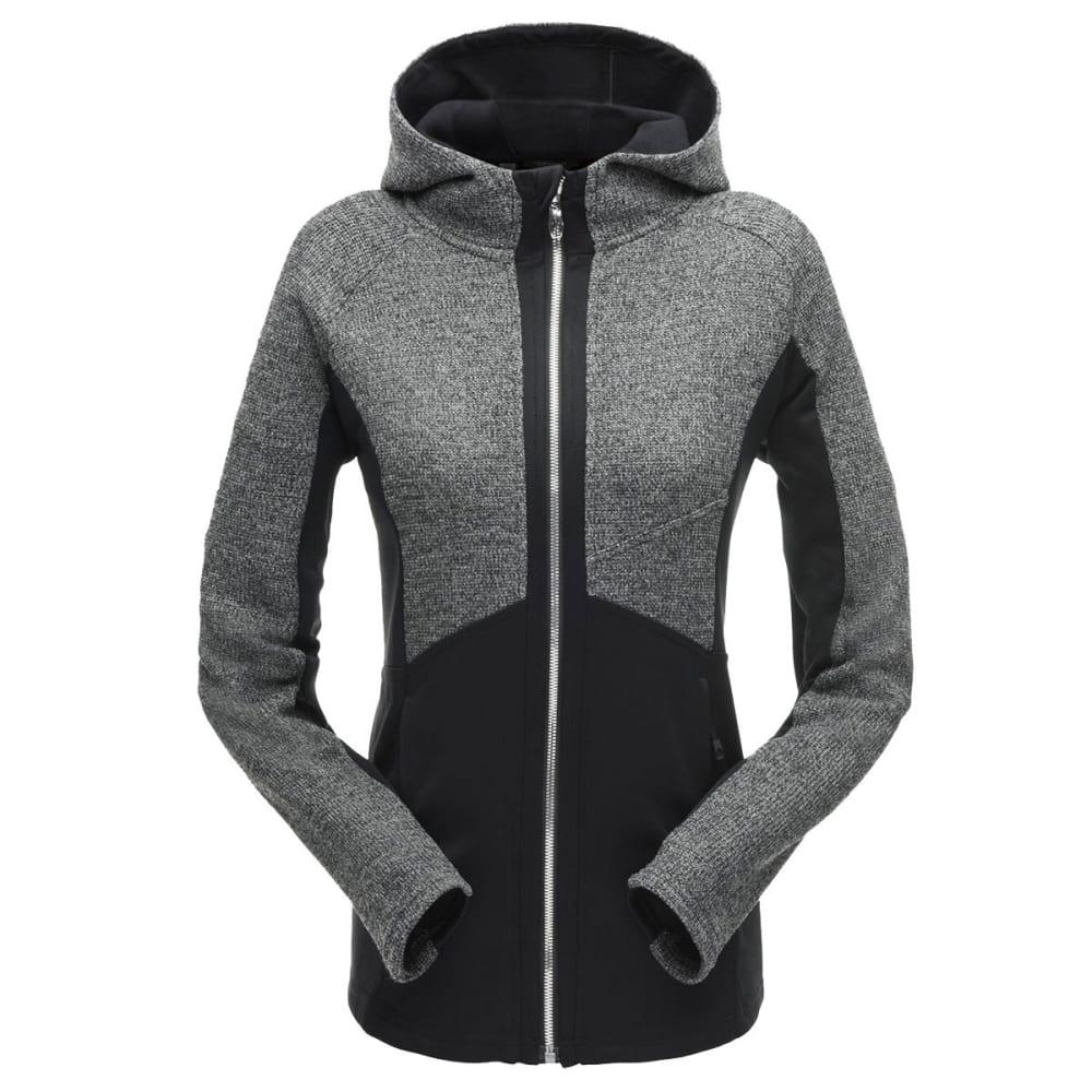 SPYDER Women's Bandita Hoody Stryke Jacket - BLACK