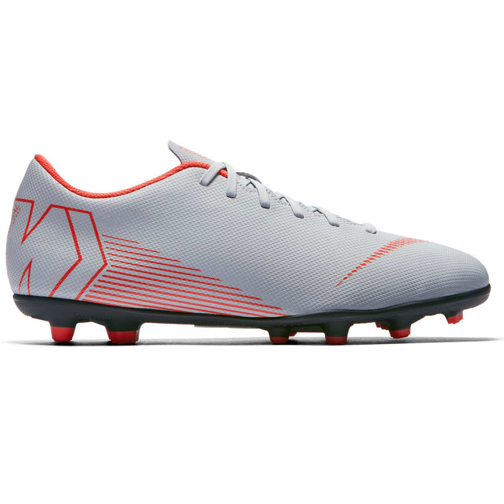 NIKE Men's Mercurial Vapor 12 Club Multi-Ground Soccer Cleats - WOLF GREY-060