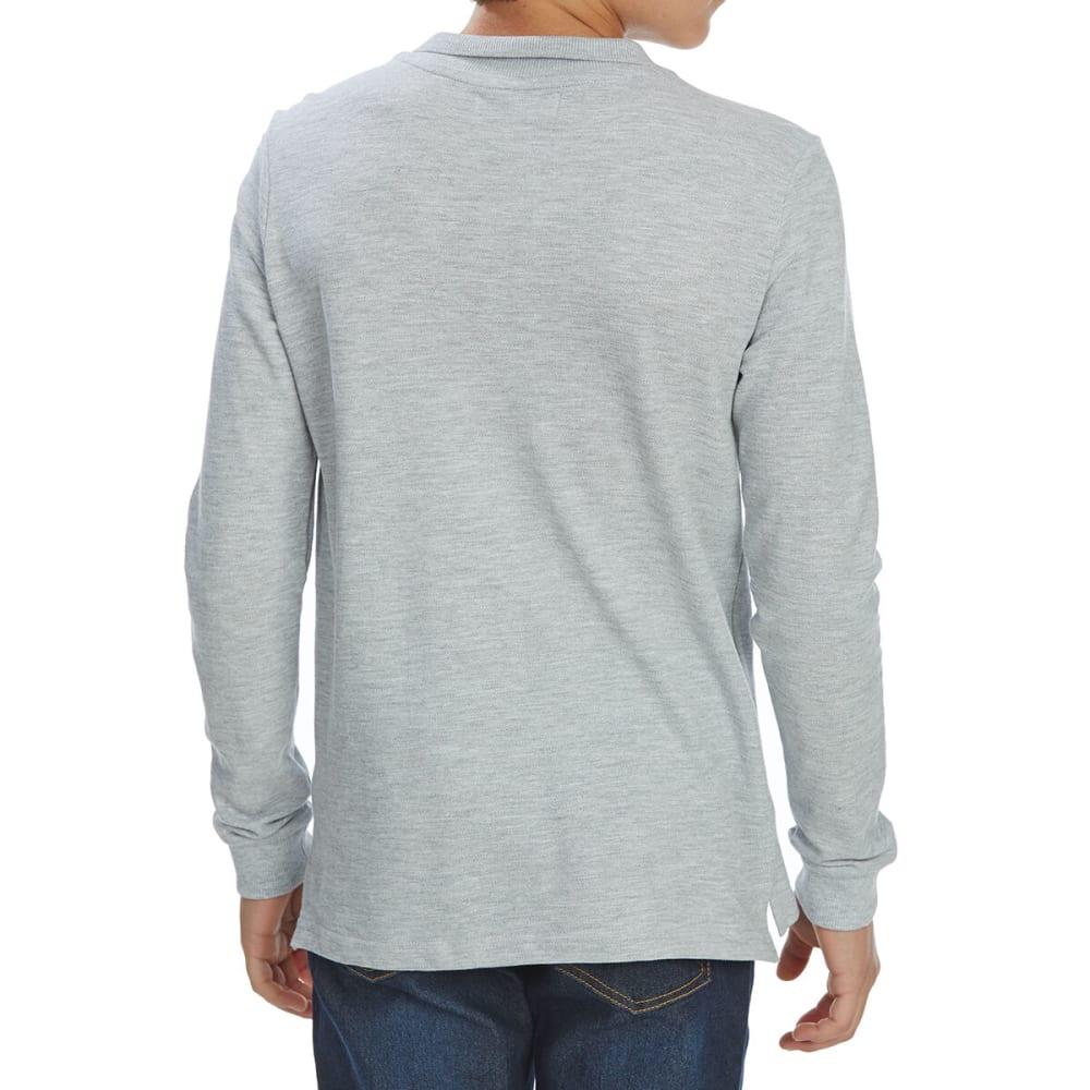 MINOTI Big Boys' Long-Sleeve Polo Shirt 9-10