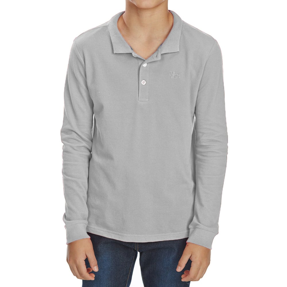 MINOTI Big Boys' Long-Sleeve Polo Shirt 12/13