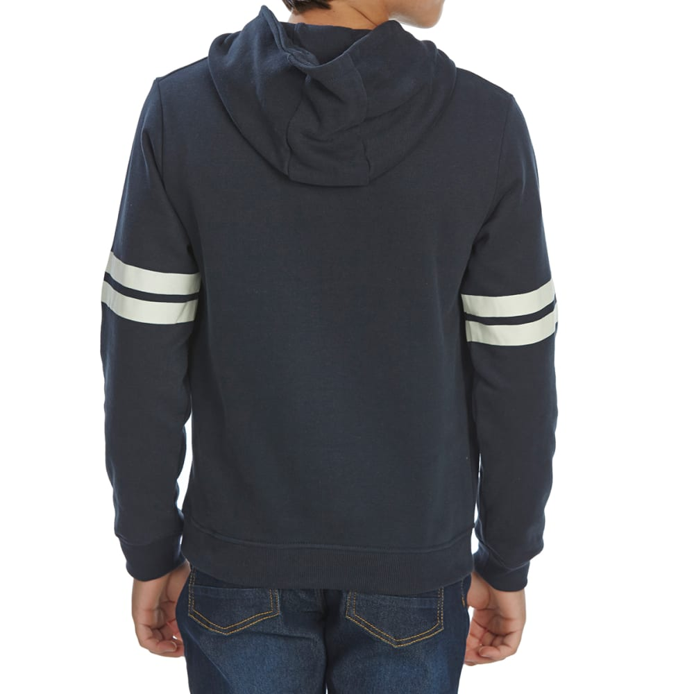 MINOTI Little Boys' Hooded Pullover - BHOOD8 -NAVY