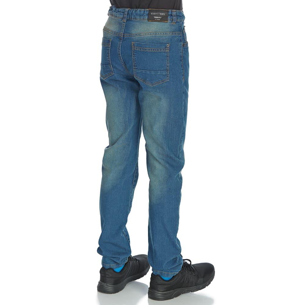 MINOTI Big Boys' Regular Denim Jeans - BREG5 - LIGHTWASH