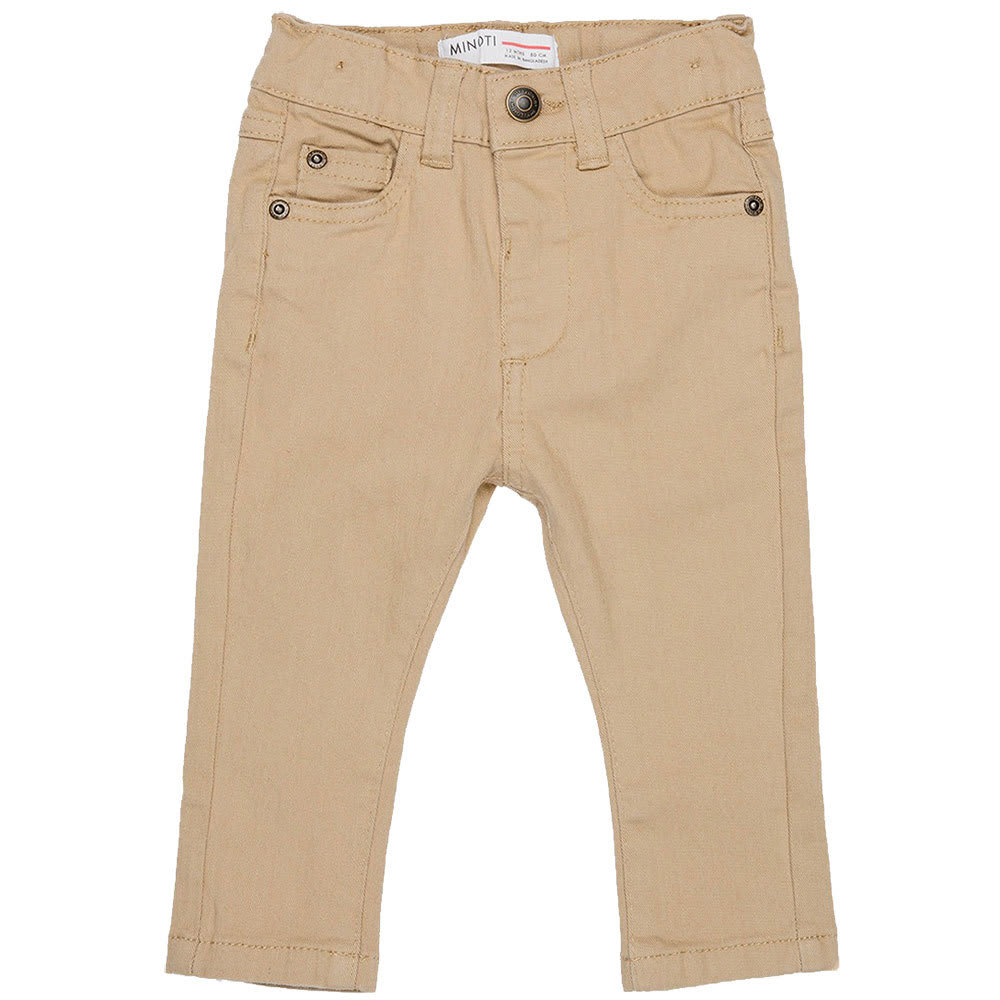 MINOTI Little Boys' Twill Pants 3-4