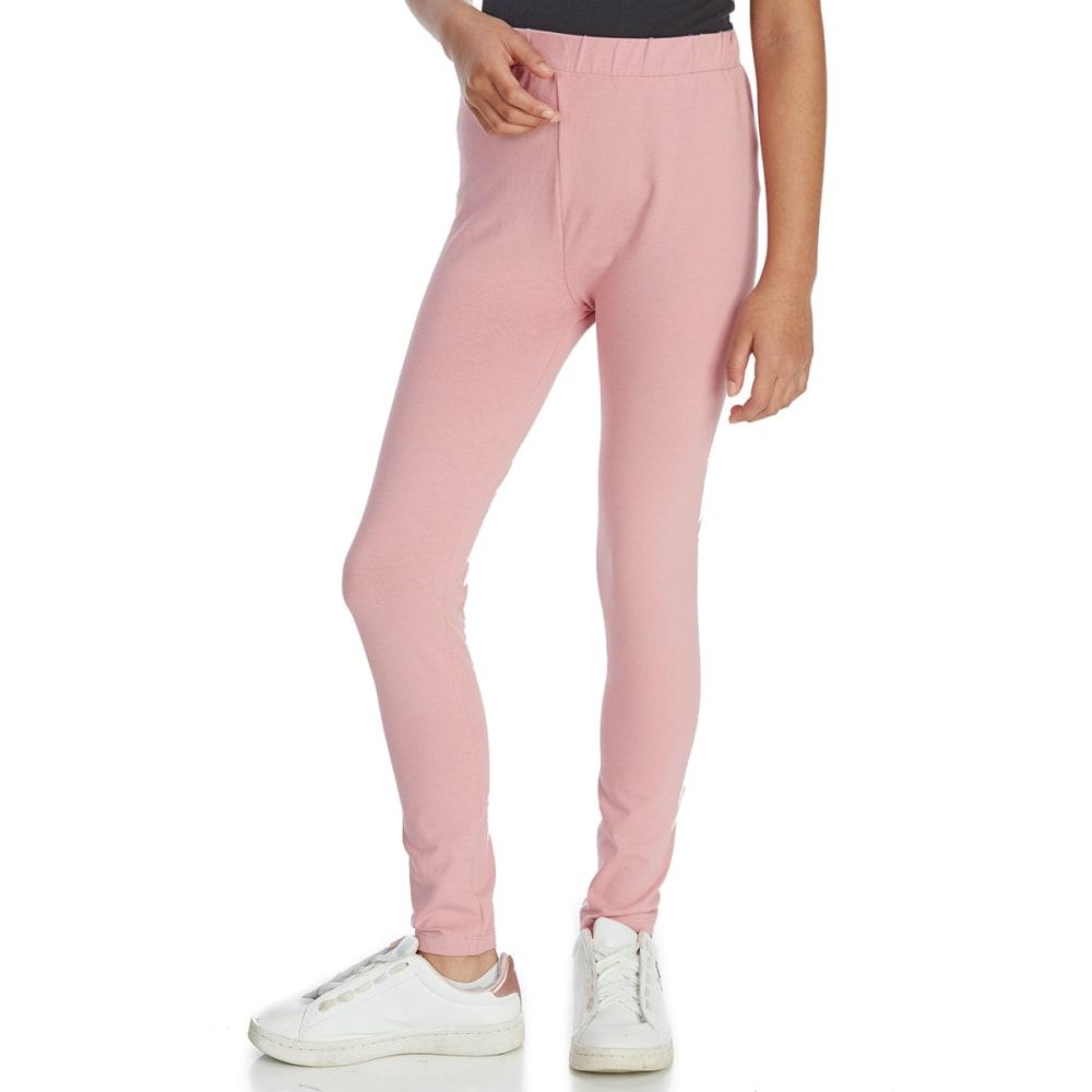 MINOTI Big Girls' Basic Leggings - GLEG12 - DUSKY PINK