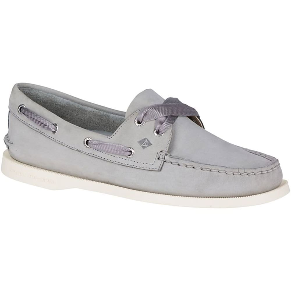 SPERRY Women's Authentic Original Satin Lace Boat Shoes 7