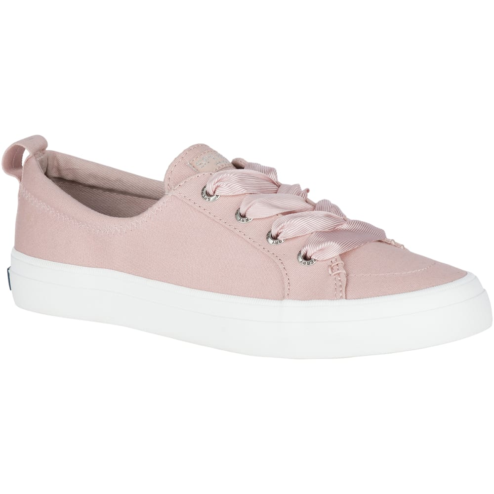 SPERRY Women's Crest Vibe Satin Lace Sneakers - ROSE DUST-STS82464