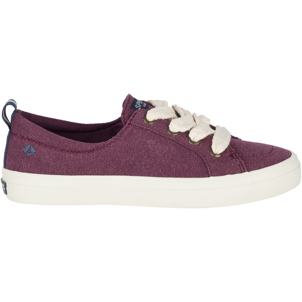SPERRY Women's Crest Vibe Chubby Lace Sneakers - FIG -STS82618
