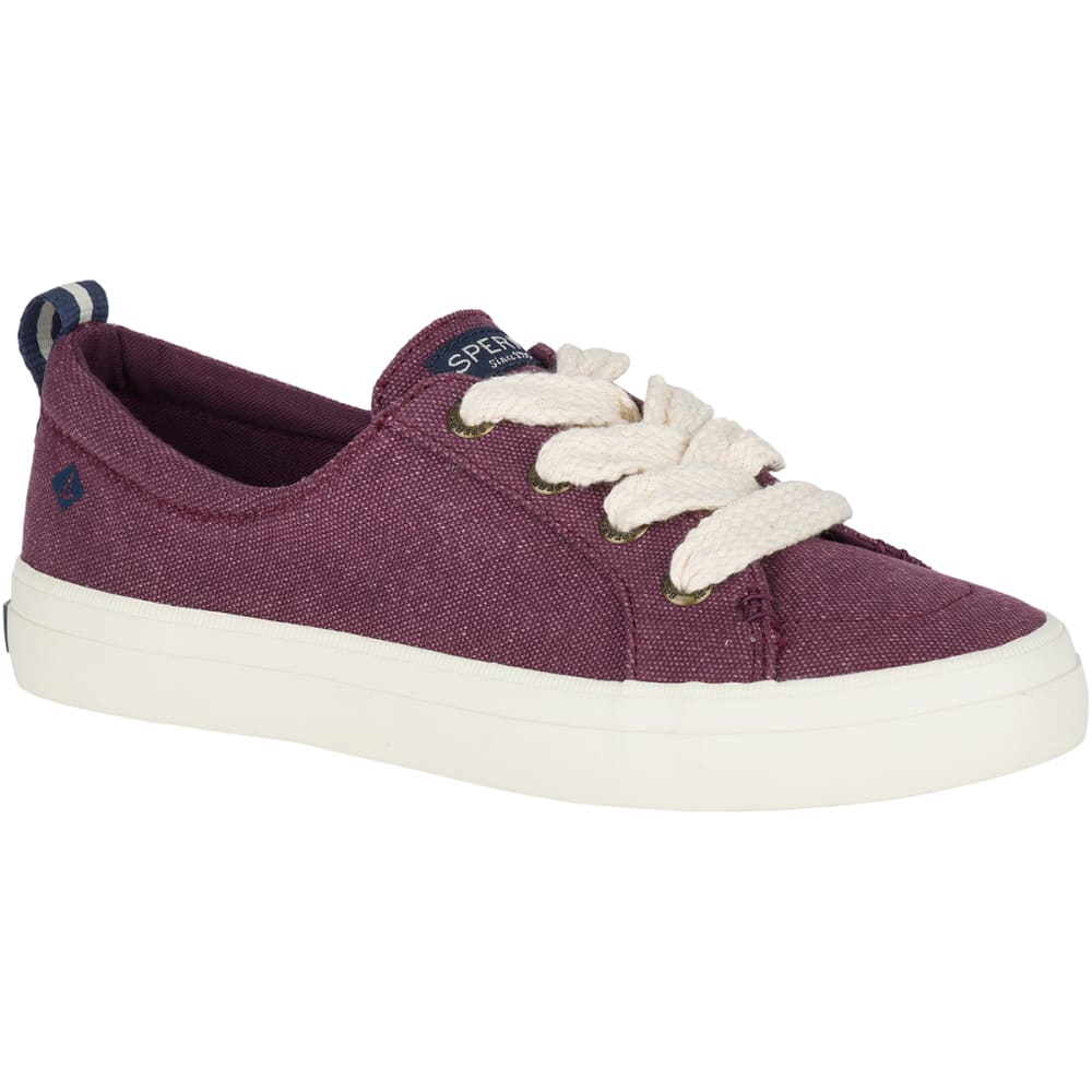 SPERRY Women's Crest Vibe Chubby Lace Sneakers 6.5