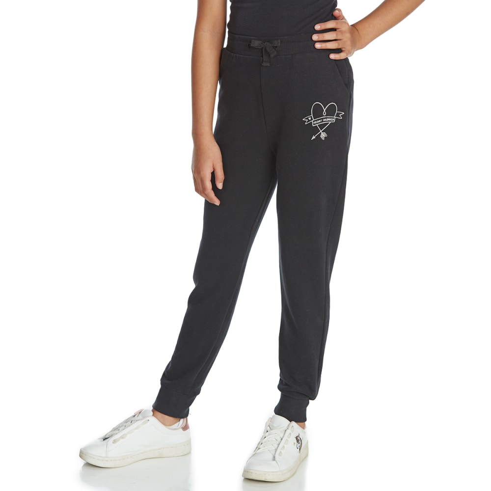 MINOTI Big Girls' Jogger Pants - GJOG8 - CHARCOAL