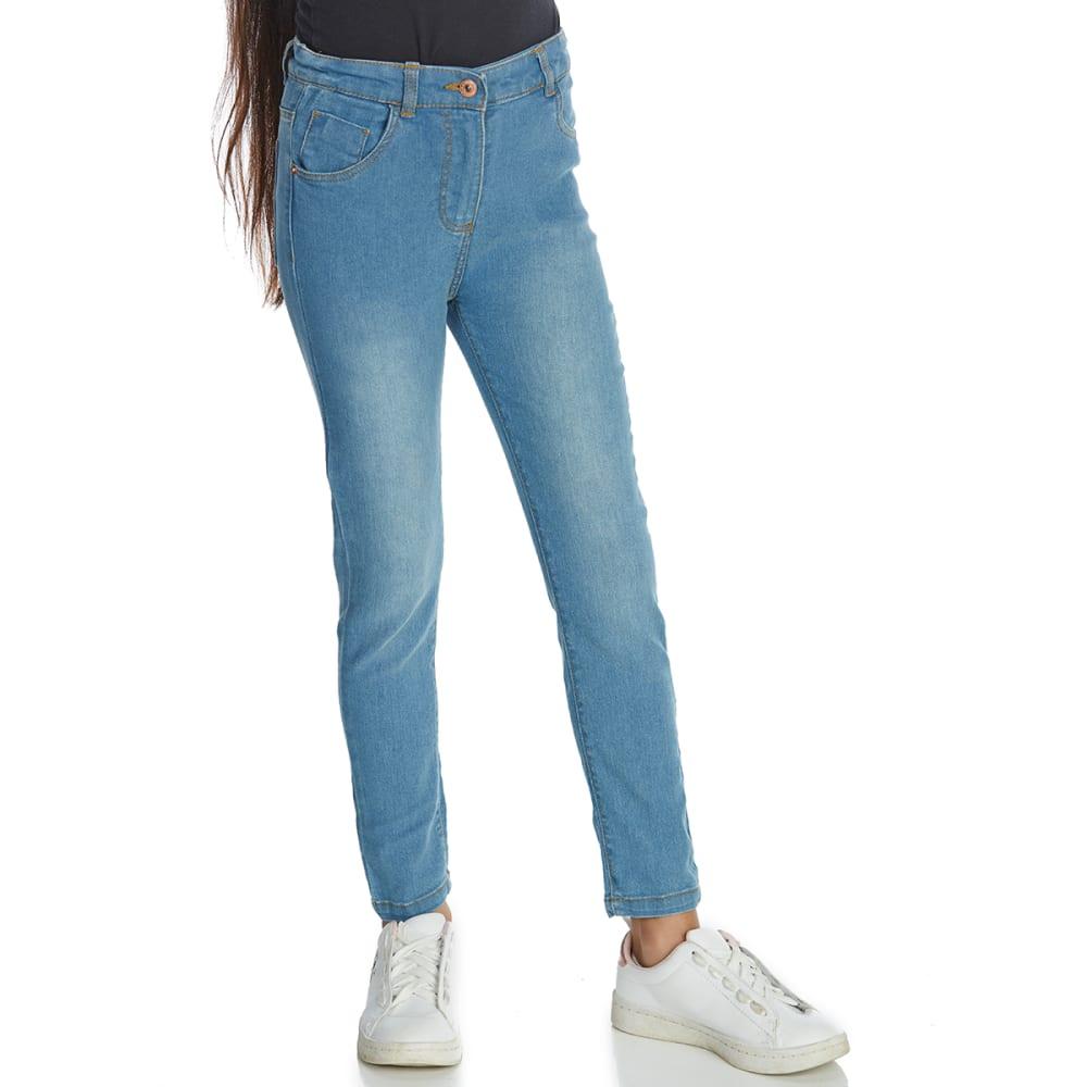 Minoti Big Girls' Basic Denim Jeans - Blue, 8-9