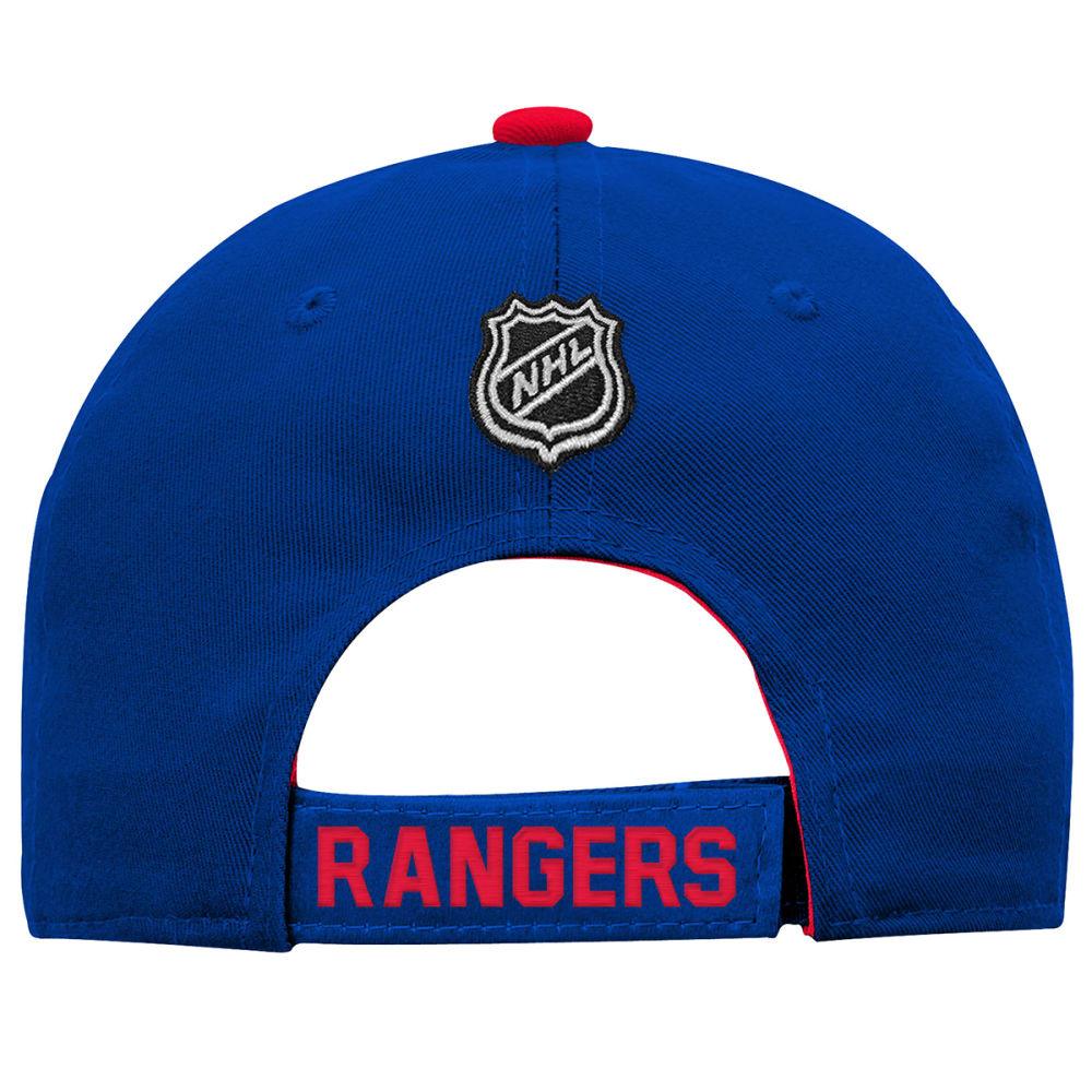 NEW YORK RANGERS Boys' Structured Adjustable Hat - ROYAL BLUE-RANGERS