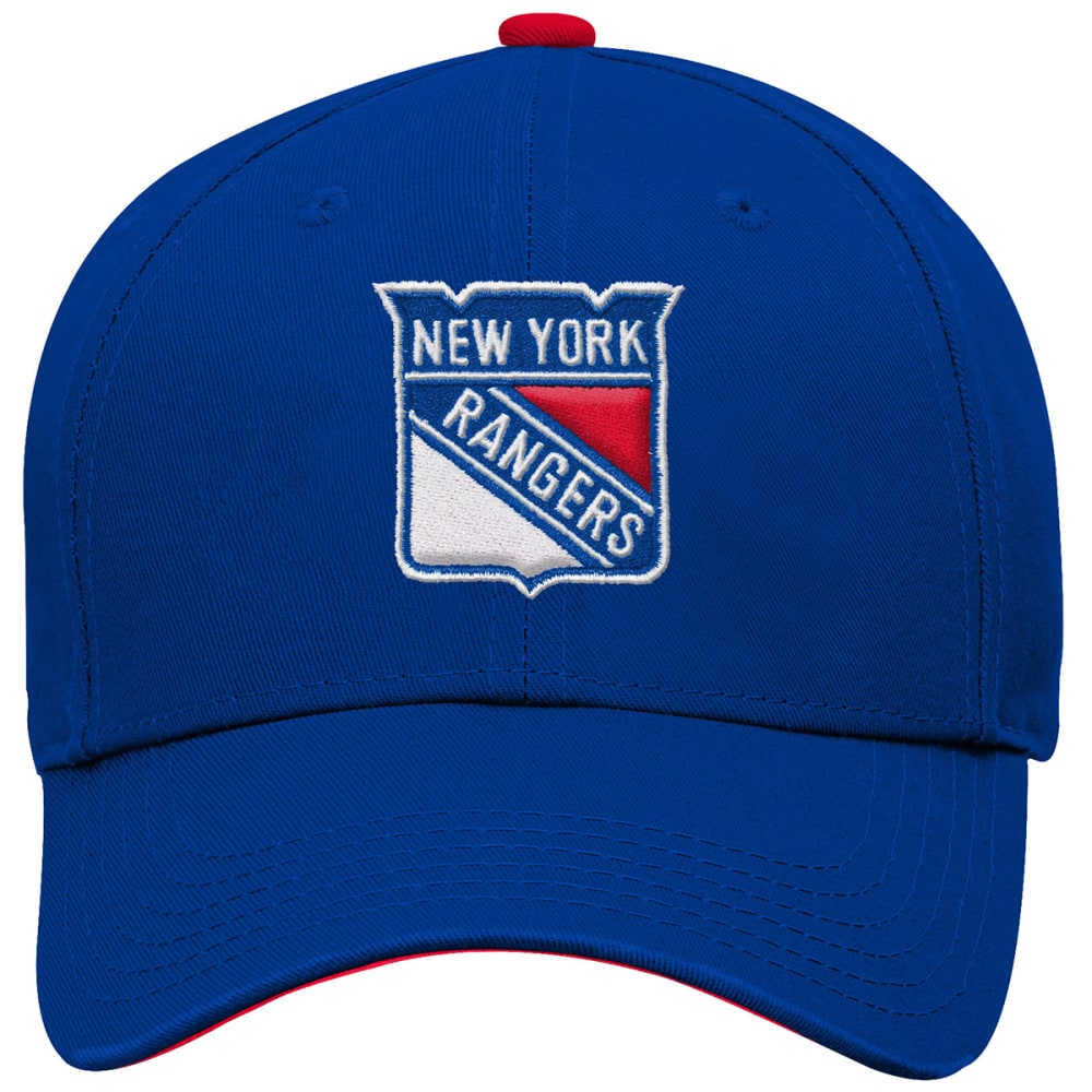NEW YORK RANGERS Boys' Structured Adjustable Hat ONE SIZE