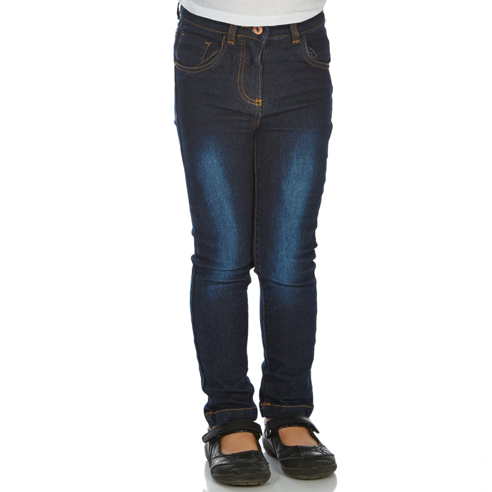 Minoti Little Girls' Denim Jeans - Blue, 5-6