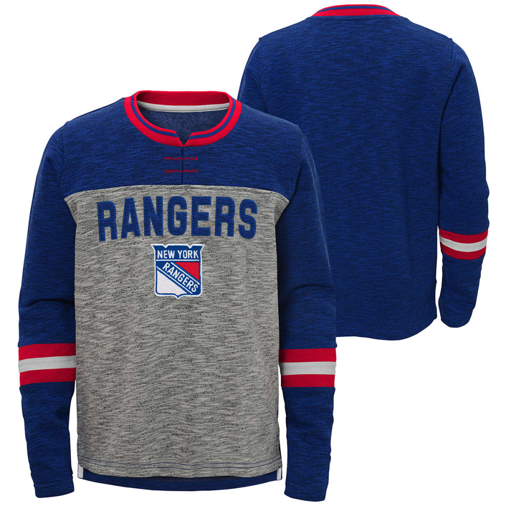 NEW YORK RANGERS Big Boys' Future Classic Long-Sleeve Tee M