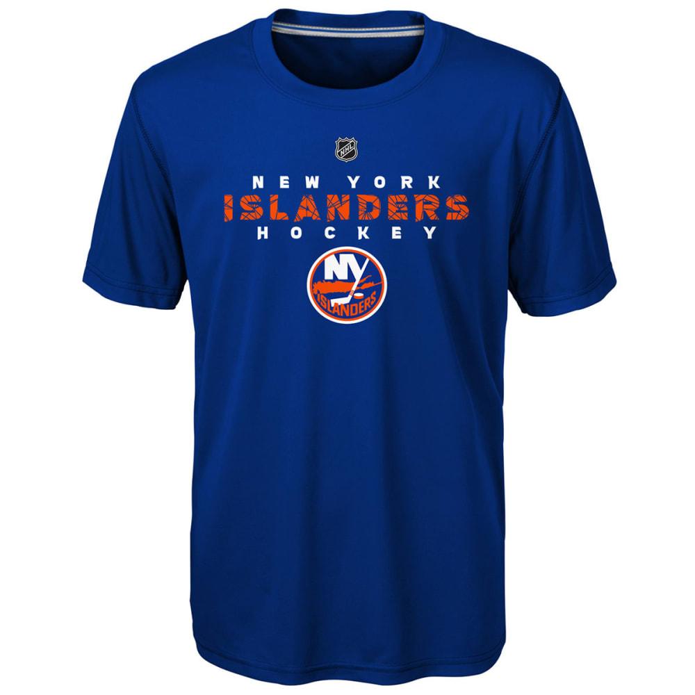 NEW YORK ISLANDERS Big Boys' Avalanche Short-Sleeve Tee - ROYAL BLUE