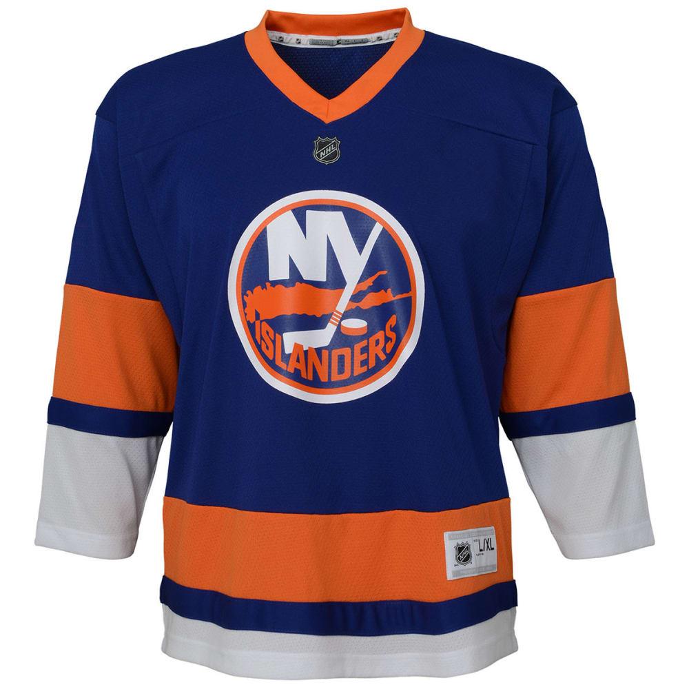 NEW YORK ISLANDERS Big Boys' Replica Long-Sleeve Jersey - ROYAL BLUE