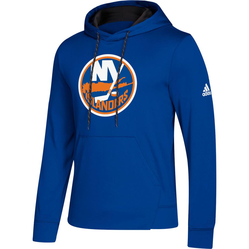 ADIDAS Men's New York Islanders Pullover Hoodie - ROYAL BLUE