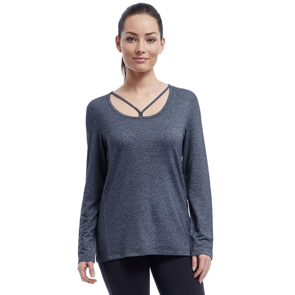 MARIKA Women's Jemma Long-Sleeve Top - H. BLACK-513
