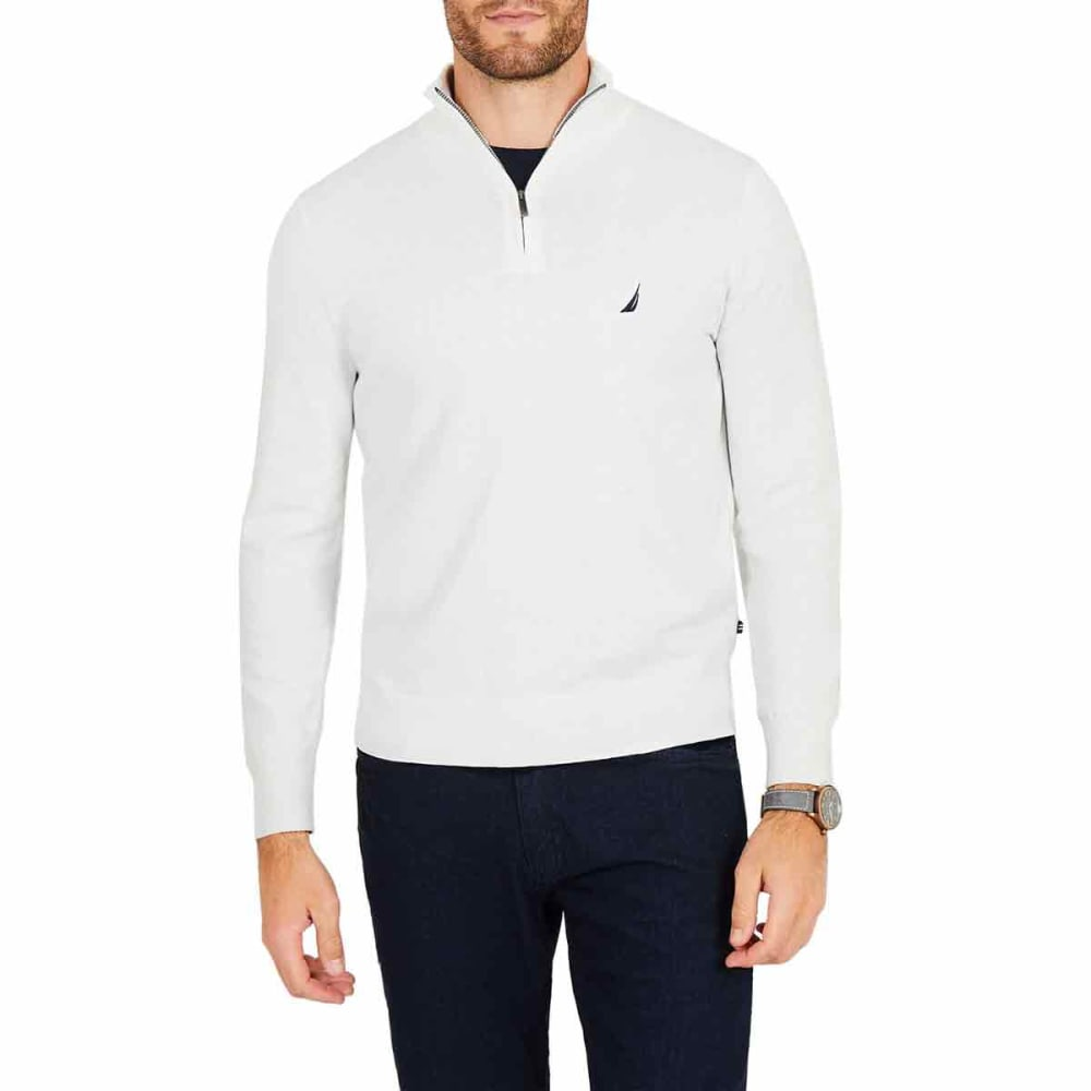 NAUTICA Men's Navtech Quarter-Zip Mock-Neck Sweater XXL
