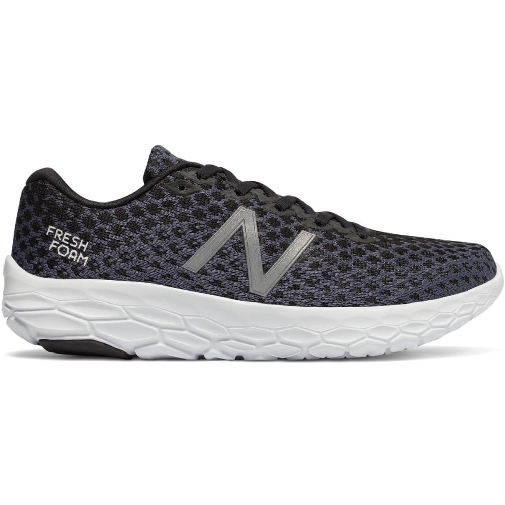 NEW BALANCE Women's Fresh Foam Beacon Running Shoes - BLACK-WBECNBK
