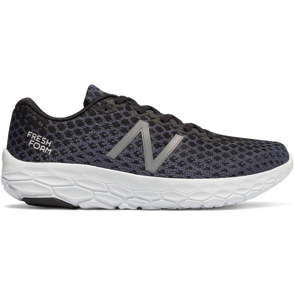 New Balance Women's Fresh Foam Beacon Running Shoes - Black, 6