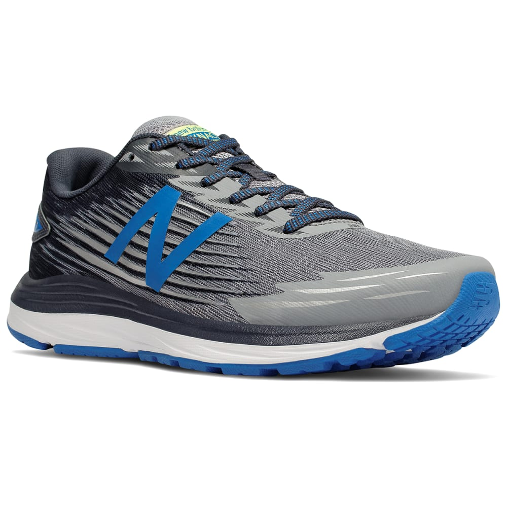 NEW BALANCE Men's Synact Running Shoes - STEEL - MSYNLG1