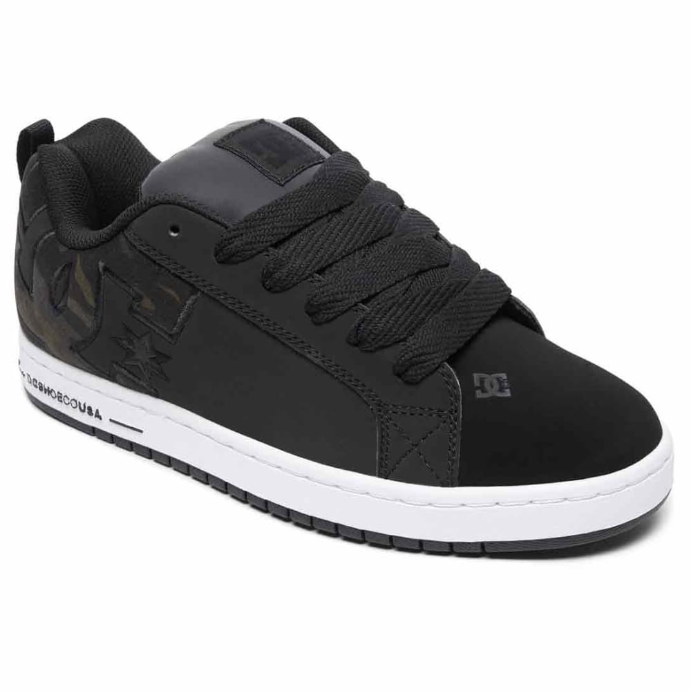 DC Men's Court Graffik SE Skate Shoes 8