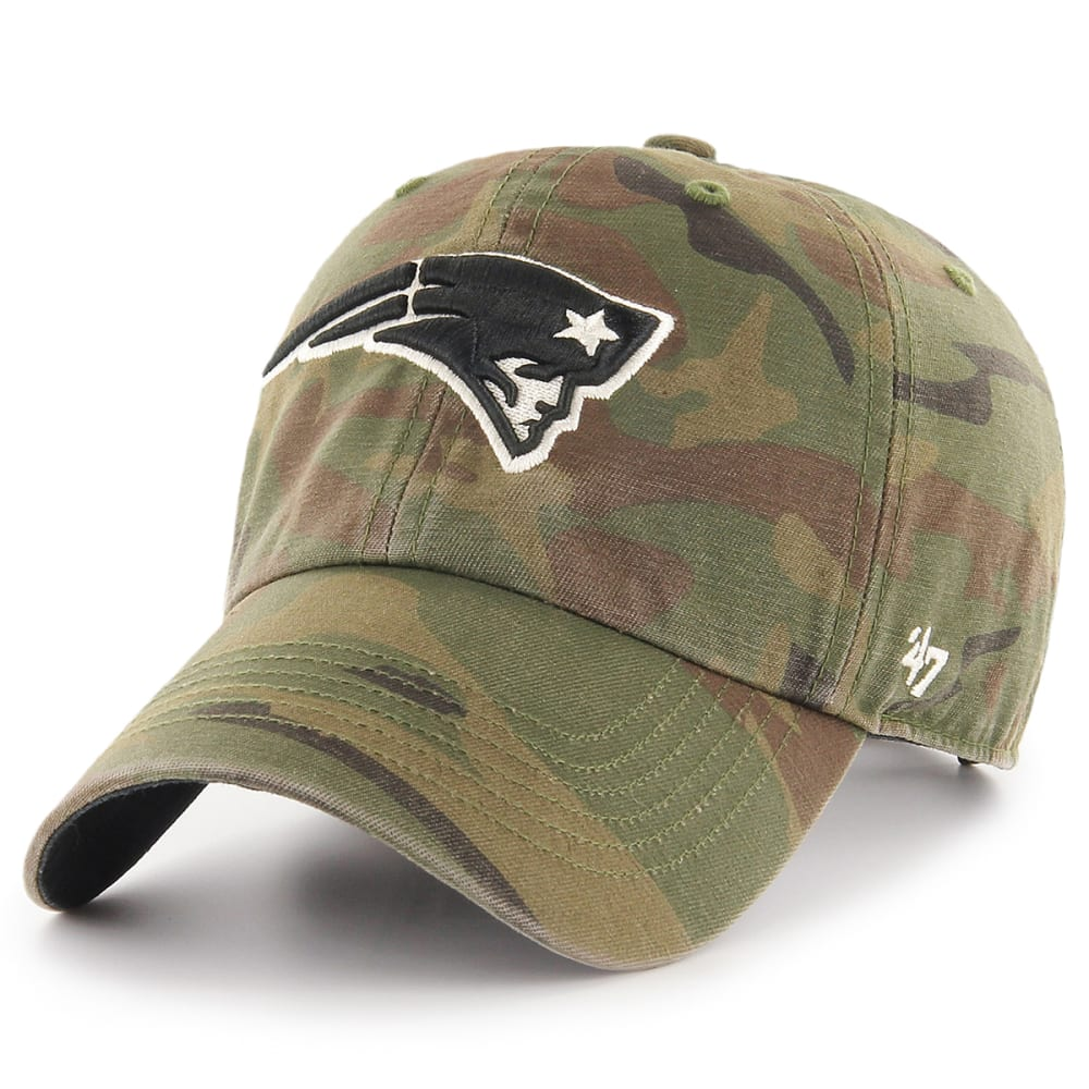 NEW ENGLAND PATRIOTS Men's Camo '47 Clean Up Adjustable Cap - CAMO