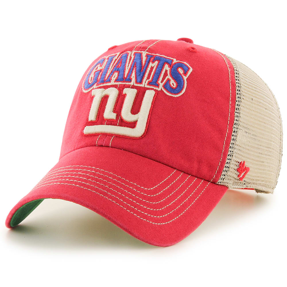 NEW YORK GIANTS Men's Tuscaloosa '47 Clean Up Snapback Cap - RED