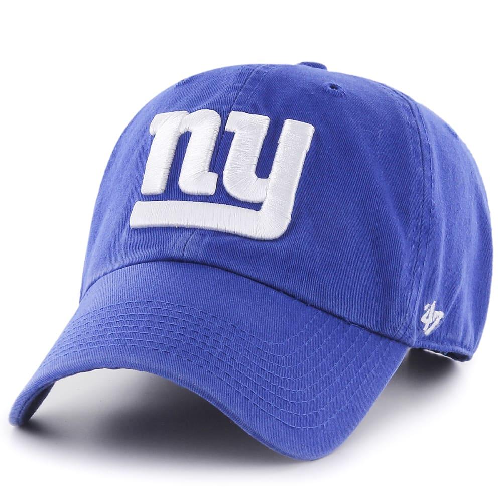 NEW YORK GIANTS Men's '47 Clean Up Adjustable Cap - ROYAL BLUE