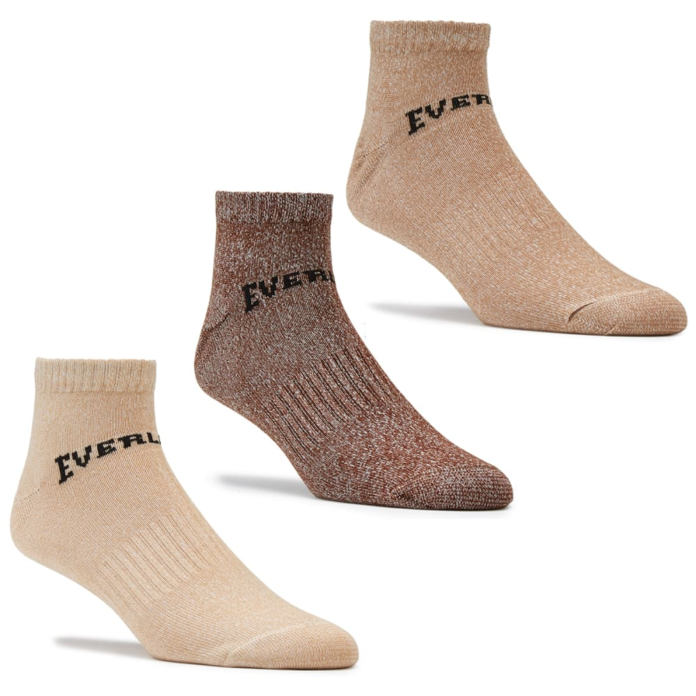 Everlast Men's Training Socks, 3-Pack - Brown, 13+