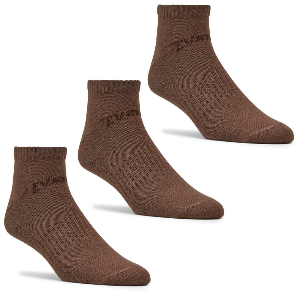 EVERLAST Little Kids' Training Socks, 3-Pack 9C- 1Y