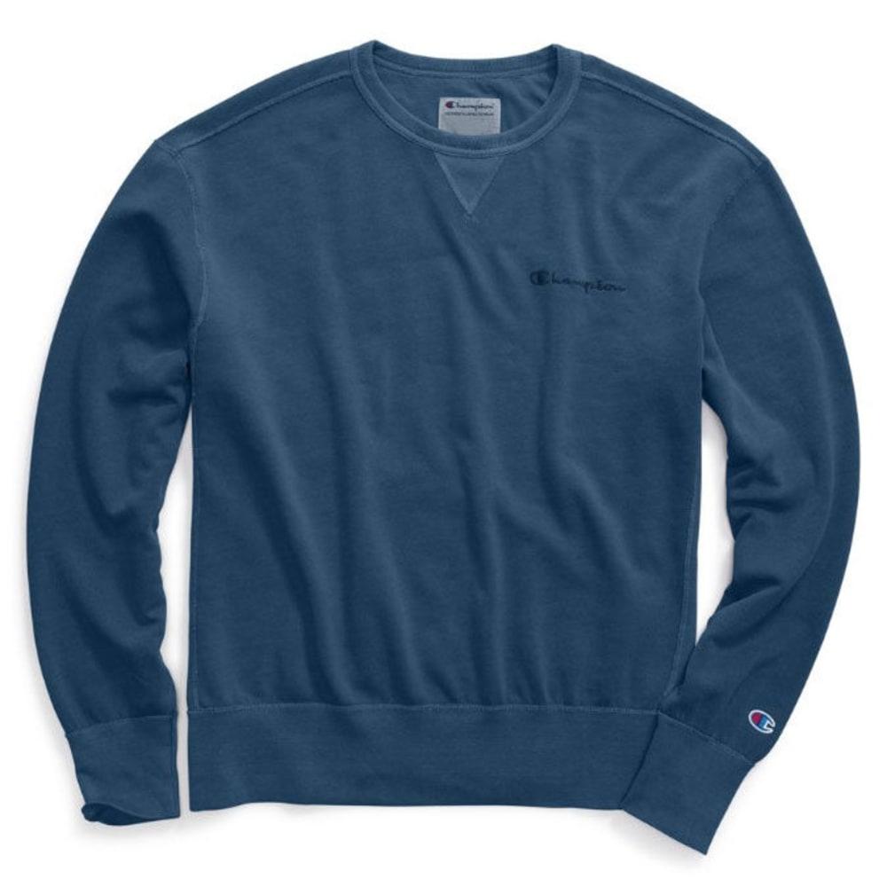 CHAMPION Men's Vintage Dye Fleece Crewneck Pullover S