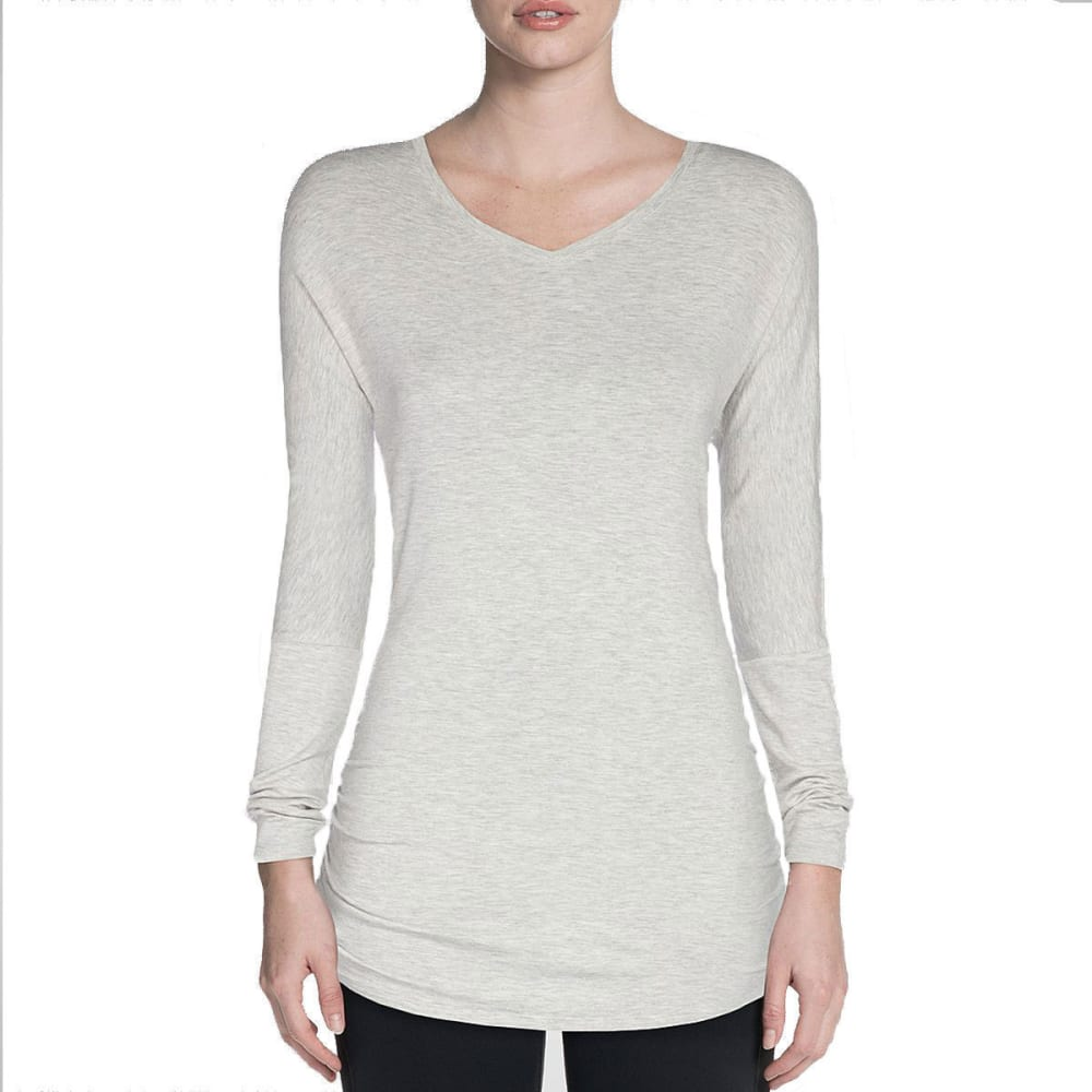SKECHERS Women's Vitality Long-Sleeve Shirt - GREY-GRY