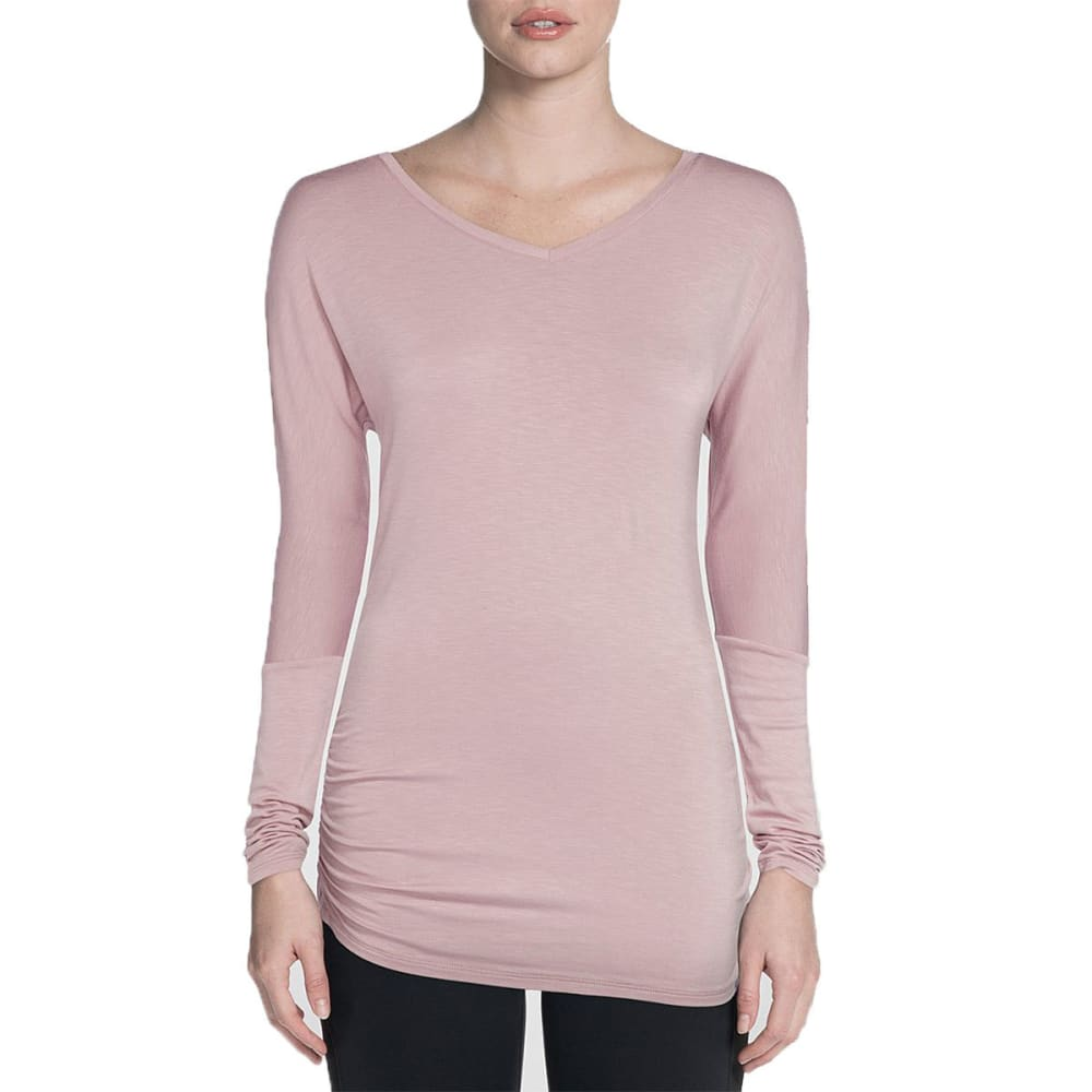 SKECHERS Women's Vitality Long-Sleeve Shirt - LIGHT PINK-LTPK