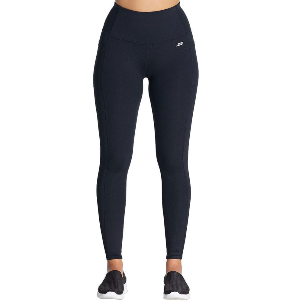 SKECHERS Women's Go Flex Backbend Leggings - BLACK-BLK