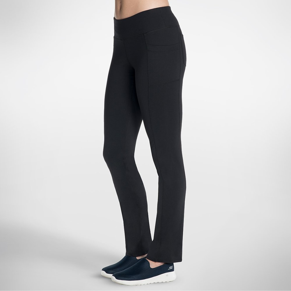 SKECHERS Women's Go Flex Walk Pants - BLACK-BLK