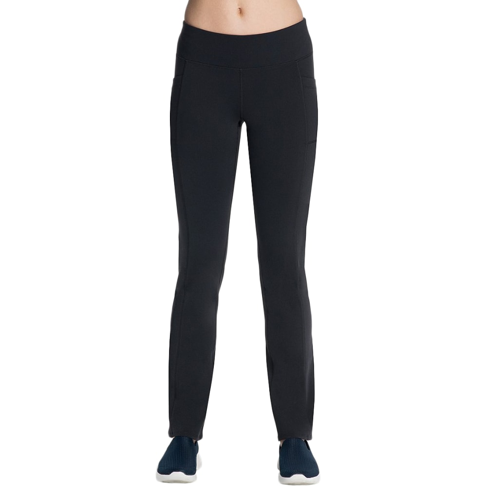 SKECHERS Women's Go Flex Walk Pants - BLACK-BLK