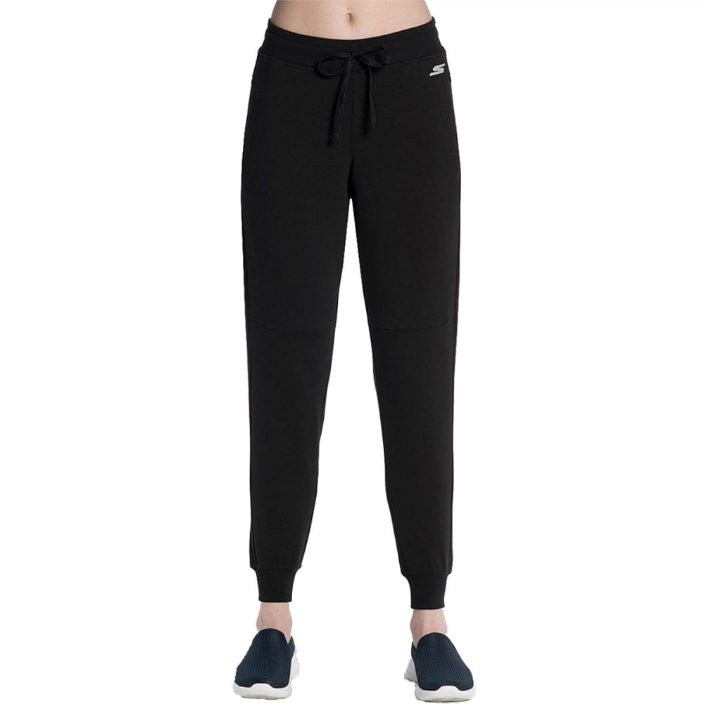 SKECHERS Women's GoWalk Monsoon Jogger Pants - BLACK-BLK