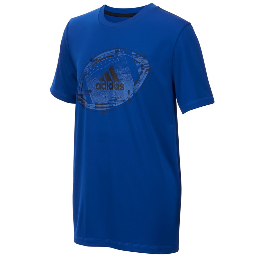 ADIDAS Big Boys' Abstract Sport Short-Sleeve Tee - COLLE ROYAL-AB107